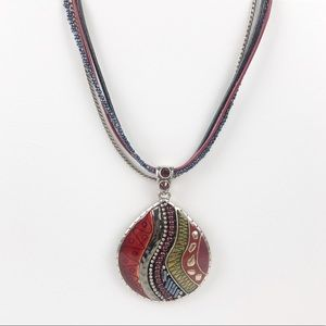Chico's Large Pendant Necklace